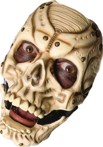 Slipknot Latex Full-Face Mask, Sid, Brown, One Size (Slipknot Masks For Sale)