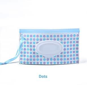Calistouk - Dispensador de toallitas húmedas para bebé, portátil, con Embrague Recargable Reutilizable: Amazon.es: Hogar