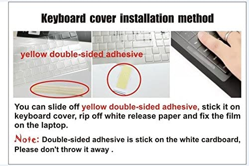 Laptop High Clear Transparent Tpu Keyboard Protector Cover for ASUS V551 V551LA TP500 TP500LA TP500LN