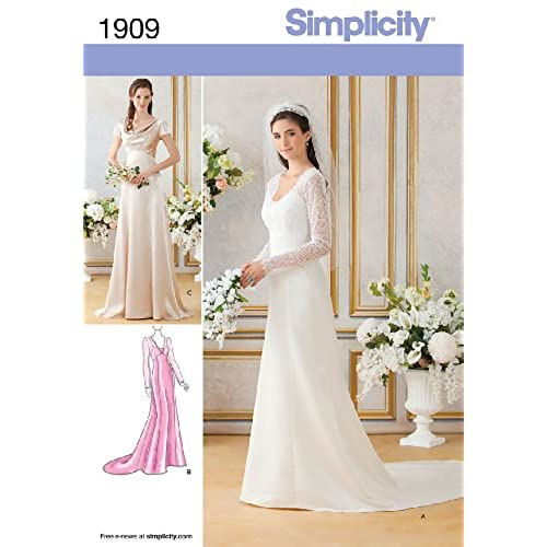 Wedding Gown Dress Patterns: Wedding Dress Pattern For Sewing: Amazon.com