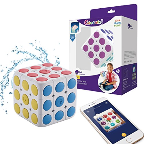 - Pai Technology Cube-Tastic 3x3 Puzzle Cube with Free IOS/Android App Tutorial Brain Teaser Toy for Kids