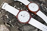 Viable Harvest Real Sandalwood Watch White Face and