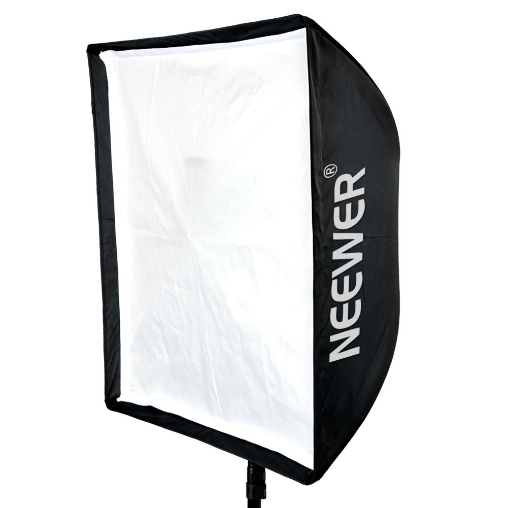 Neewer® 24' x 36'/60cm X 90cm Speedlite, Studio Flash, Speedlight and Umbrella Softbox with Carrying Bag for Portrait or Product Photograp 10074155