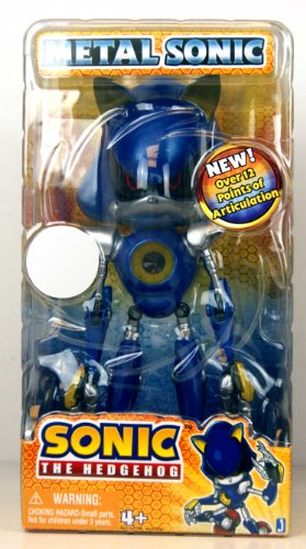 Sonic The Hedgehog Exclusive 10 Inch Action Figure Metal Sonic [Over 12 Point...