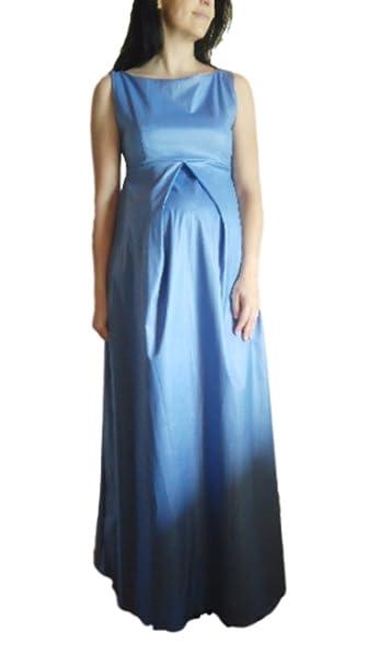 Lucina Maternity Fashion- Vestido Fiesta Premamá-Maxi (L)