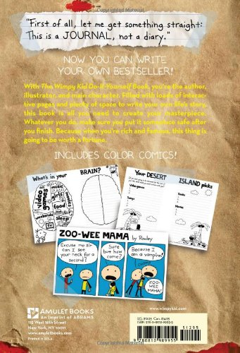 Wimpy kid do it yourself book revised and expanded edition wimpy kid do it yourself book revised and expanded edition diary of a wimpy kid jeff kinney 8601400343142 amazon books solutioingenieria Choice Image