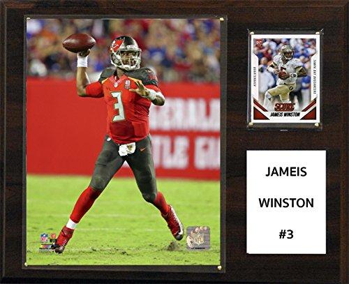 C&I Collectables NFL Tampa Bay Buccaneers Jamesis Winston Player Plaque, 12