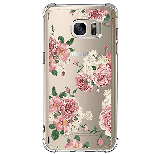 Galaxy S7 Shockproof TPU Bumper Case,Pretty Pattern Design with Shock Absorption Technology Bumper Soft TPU Cover Case for Samsung Galaxy S7 (1)