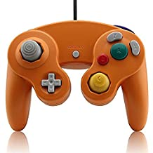 Childhood Classic Nintendo Gamecube Style USB Wired Controller Gamepad for PC and Mac NGC Orange