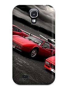 Premium Durable Red Ferraris Wallpaper Fashion Tpu Galaxy S4 Protective Case Cover