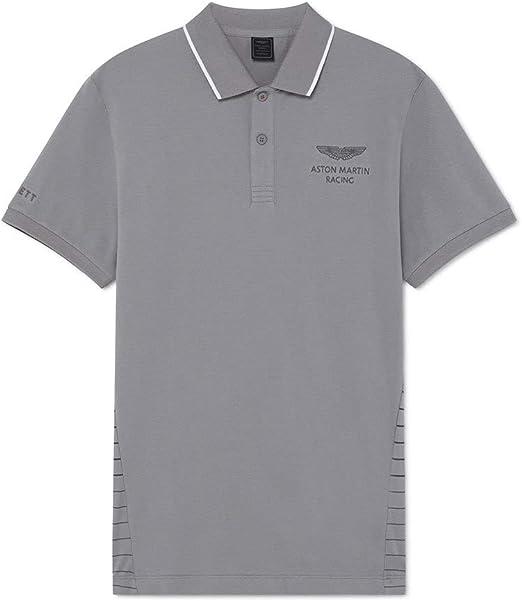TALLA XXL. Hackett London Amr Stripe Back Camiseta para Hombre