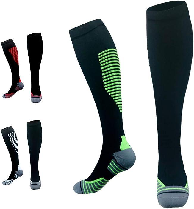 Cotton Men Male Footballs Socks Soccers Outwear Breathable Sweat Socks Compression Stockings Anti-slip Anti-wear Elastic Weaving Underwear & Sleepwears