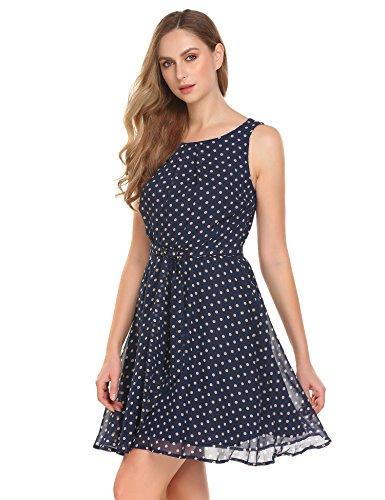 Senza Vestito Donna Pat2 Maniche Impero Stile Modfine AtW8qwaAx