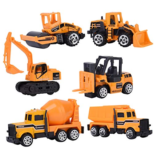 XADP 6 Pcs Play Vehicles Construction Vehicle Truck for sale  Delivered anywhere in USA