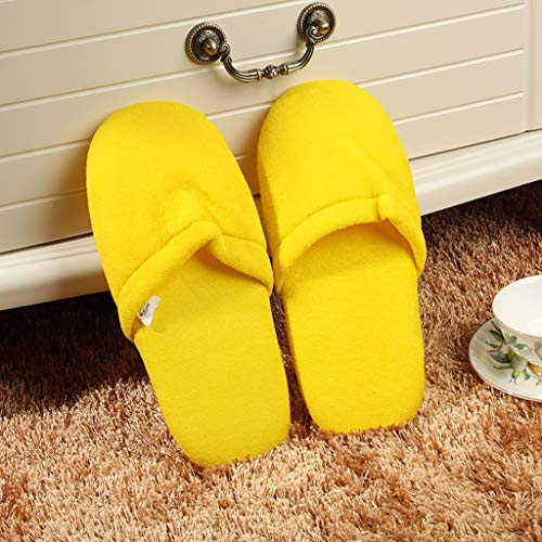Coloré LQFLD Non Étage Paires Chaussons De 003 Pantoufles Hospitalité 10 Doux Pain Spa Slip 009 Accueil RRxHCS1qw