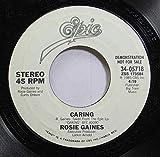 Rosie Gaines 45 RPM Caring / Caring