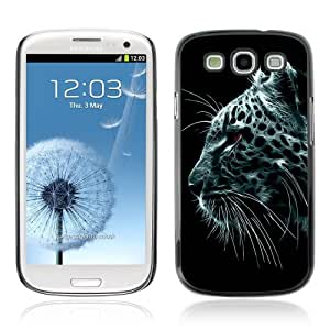 Designer Depo Hard Protection Case for Samsung Galaxy S3 / Majestic Snow Leopard Painting