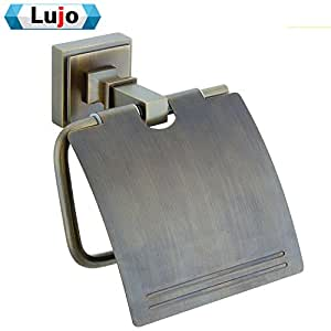 Chrome plated brass round rustic toilet paper holder bathroom accessories yu xin for Chrome plated brass bathroom accessories