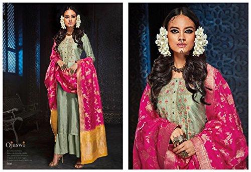 da donna personalizzato partito vestito sposa abiti etnico da partito dritto saree con sexy partito 2635 etnico vestito tradizionale abito abito costume saree indossare abito usura casual wI1qwF