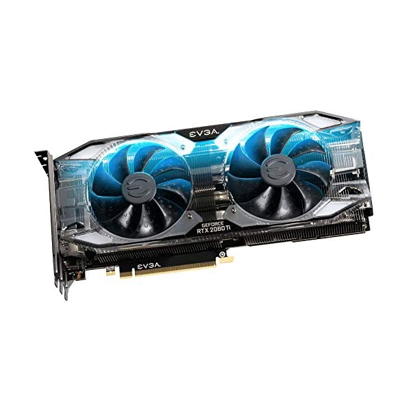 EVGA GeForce RTX 2080 Ti XC Ultra Gaming, 11G-P4-2383-RX, 11GB GDDR6, Dual HDB Fans & RGB LED (Renewed)