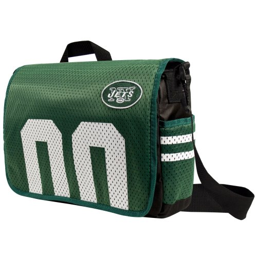 - Littlearth NFL New York Jets Jersey Messenger Bag