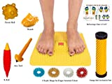 Acupressure Mat with Magnets Pyramids for Pain Relief and Total Health Size 12x12.5 Inches