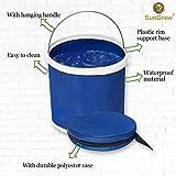 Collapsible Bucket with Storage Bag, Aquarium Water