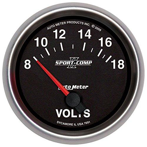 Auto Meter 7691 Sport-Comp II 2-5/8