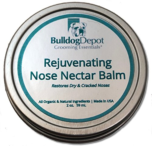 Bulldog Depot Grooming Essentials- Rejuvenating Nose Nectar Balm! (2 oz. Tin (Best Value))