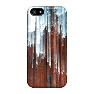 Iphone 5/5s Case Cover - Slim Fit Tpu Protector Shock Absorbent Case (light Rain)