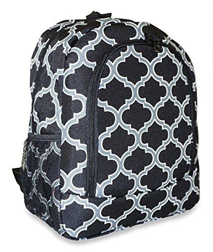 Ever Moda Moroccan School Backpack (Black)