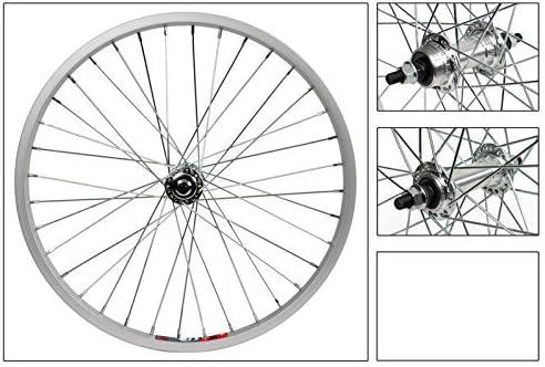 Ruedas de bicicleta 20 x 1,75 rueda Master Silver, 36H, BMX 3/8 FW ...