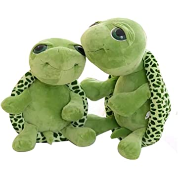 Fanala Unisex Children Durable Soft Tortoise Shape Plush Toy Home Entertainment Toy Stuffed Animals & Teddy Bears