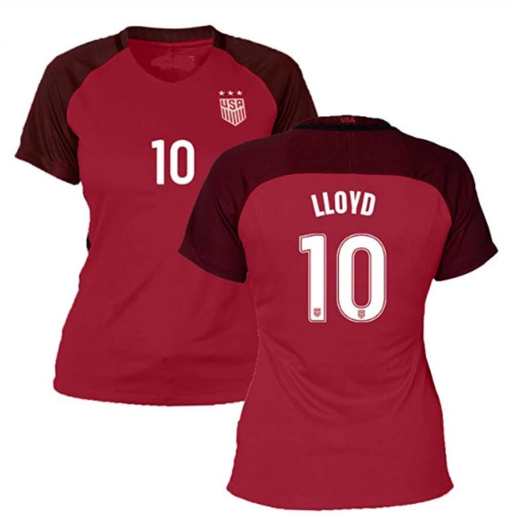 USA Home Women Replica Top Jersey Carli Lloyd 10# Jerseys L