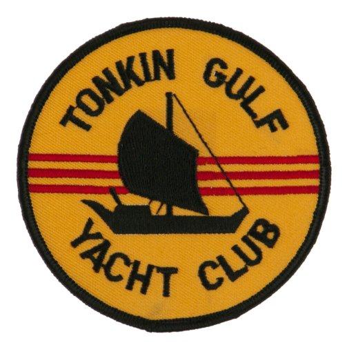 State War Patch (US Navy Circular Large Patch - Tonkin Yacht OSFM)