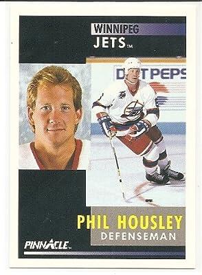 Phil Housley 1991-92 Pinnacle Winnipeg Jets Card #4
