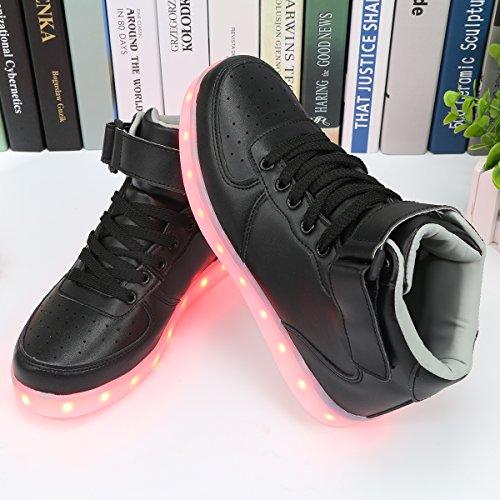 de Clignotantes Montantes à USB LED Sport Chaussures PADGENE par Rechargeables vnqw5SpxBY