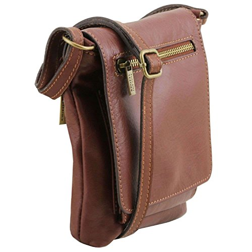 Para Tuscany Bolso Mujer Taille Hombro Al Unique Marrón De Piel Leather cqY7qWrP