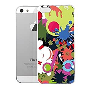 Light weight with strong PC plastic case for iPhone iphone 6 4.7 Artists Jorge Oswaldo Color Burst Sprin