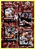 1991 Star Pics #109 Offensive Prospects Nick Bell Brett Favre Alvin Harper Charles McRae