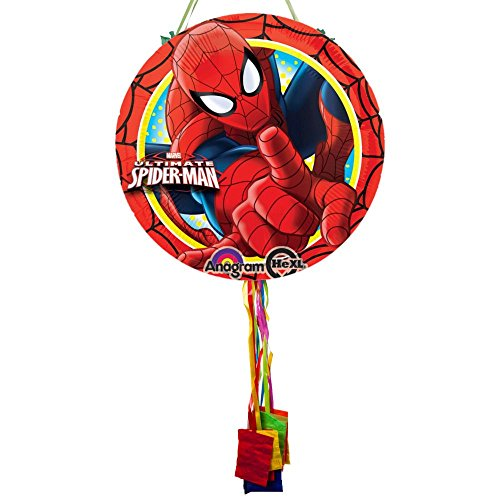 Ultimate Spider-man Costume (Costume Supercenter BBKIT1109BG Ultimate Spiderman Pull String Pinata)