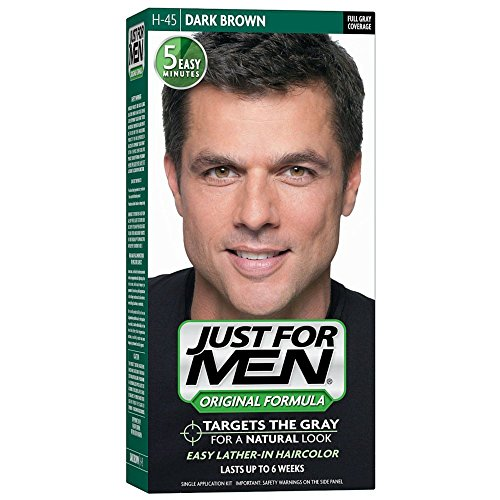 Just For Men Original Formula Men's Hair Color, Dark Brown (Pack of 12)