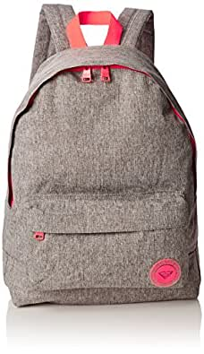 Roxy Sugar Baby - Mochila casual, color gris, 16 litros, 40 cm: Amazon.es: Zapatos y complementos