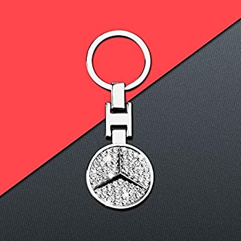 Amazon.com: HNLJP Key Chain Benz Key Chain Keyring Zircon ...