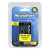 Maximalpower FUJI NP-120 2000mah Battery for Fuji NP120, Pentax DL17 and the Kyocera-Contax BP1500, Fully Decoded w. 3 yr warranty