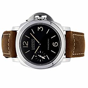 Panerai Luminor mechanical-hand-wind mens Watch PAM 466 (Certified Pre-owned)