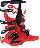Alpinestars Tech 5 Boots-Red/White/Black-6