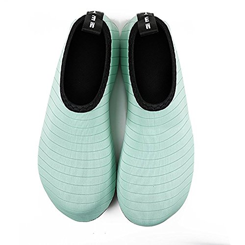 Water Men's Surf Beach 28 Boots Barfus Aquaboots Shoes Shoe Children slip skgardeniamy nbsp; Slippers 29 Shoes Women's Wetsuit Schwimmschuhe Aqua Green Non amp; size YUqx584