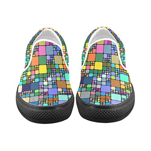 Unieke Debora Aanpassen Van De Sneakers Van De Maniervrouwen Ongebruikelijke Instappers Van Het Loafersmislukkers Multicoloured45