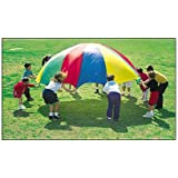 PLAY PARACHUTE 3.5m 12ft - KIDS PARTY GARDEN GAMES ETC